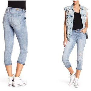 Kut from Kloth skinny crop boyfriend jeans Bardot